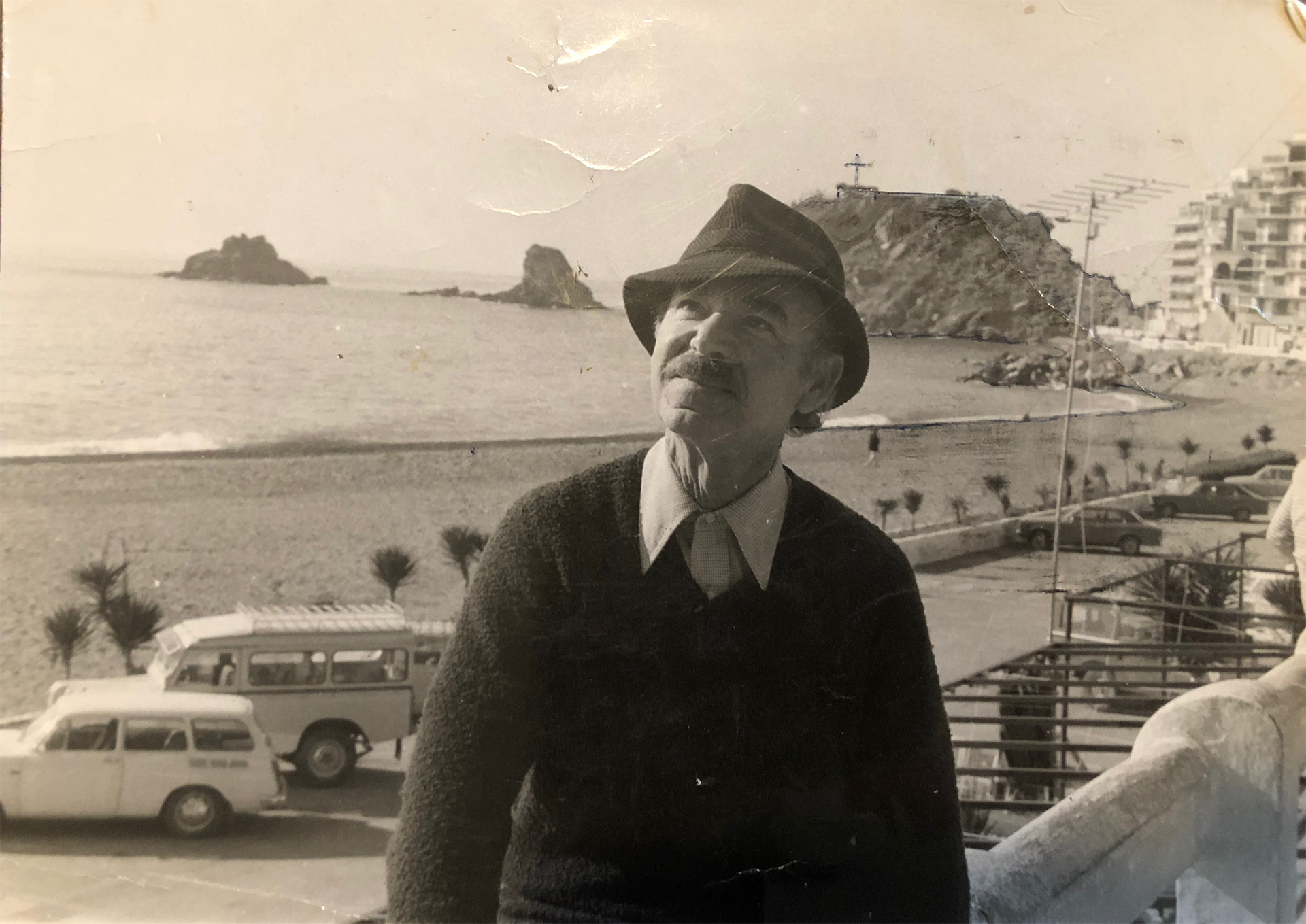 Alexander Goodman in Almenecar, Spain 1978
